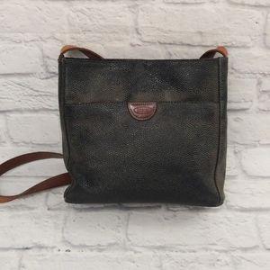 Bric's pebbled leather crossbody bag